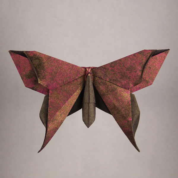 Origami: Alexander swallowtail butterfly | 599x600