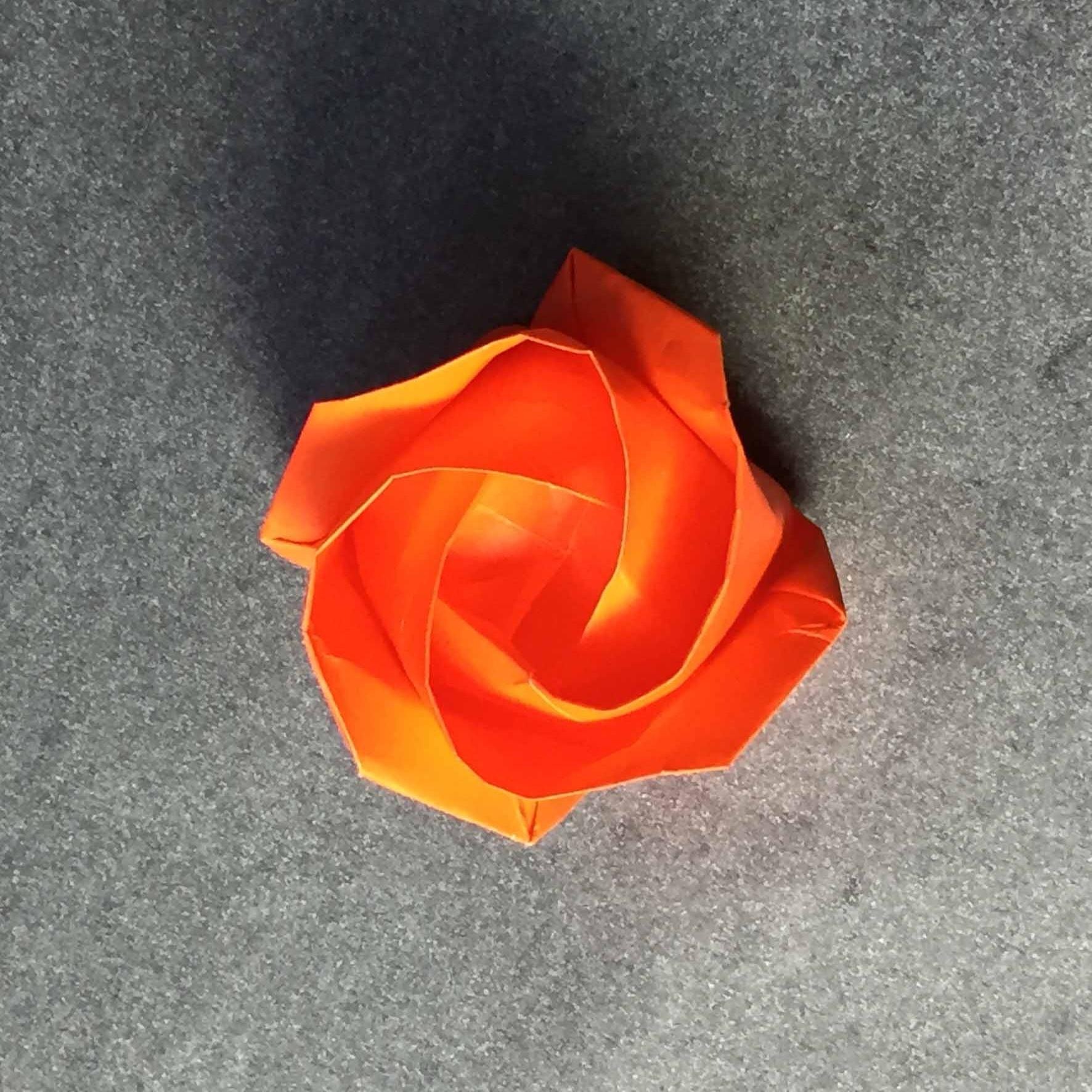 DIY Magic Rose Cube | Paper Craft Ideas | Origami Rose - YouTube | 1772x1772